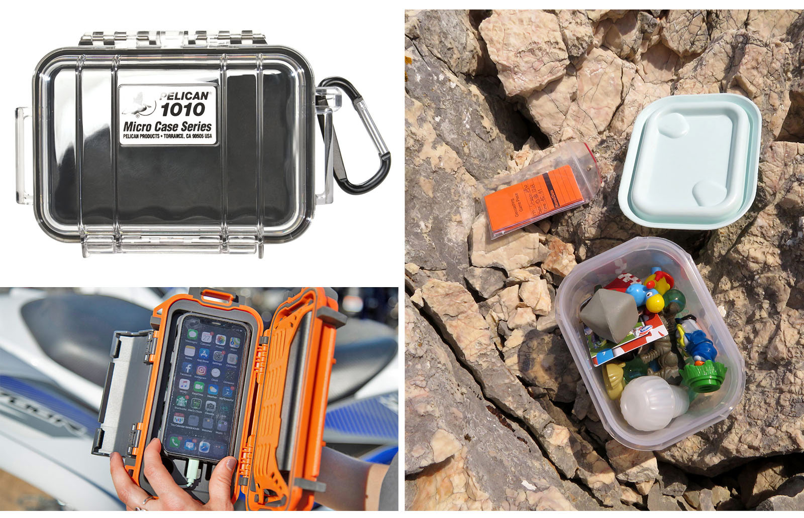 geocaching small hard cases