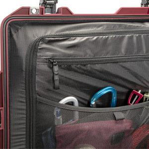 pelican travel case lid organizer storage compartments