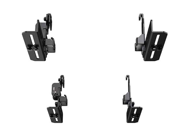 pelican roof mounting bracket kit