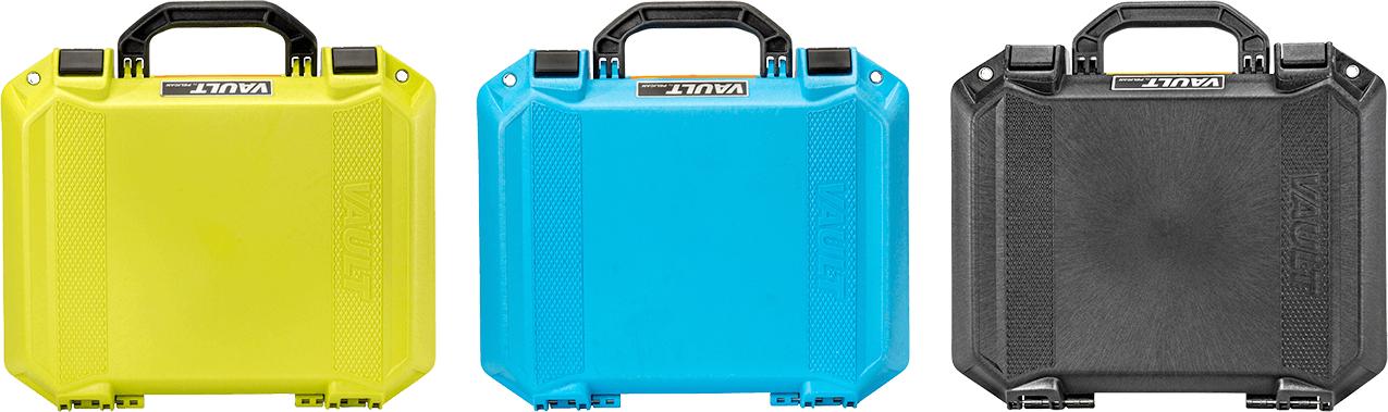 pelican equipment vault color cases