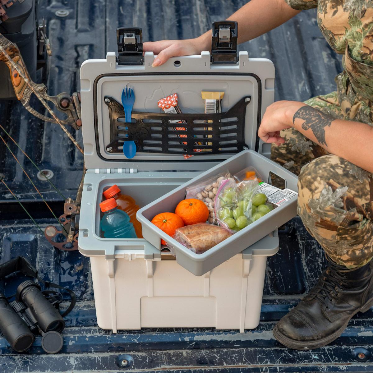 pelican 14qt three level compartment cooler