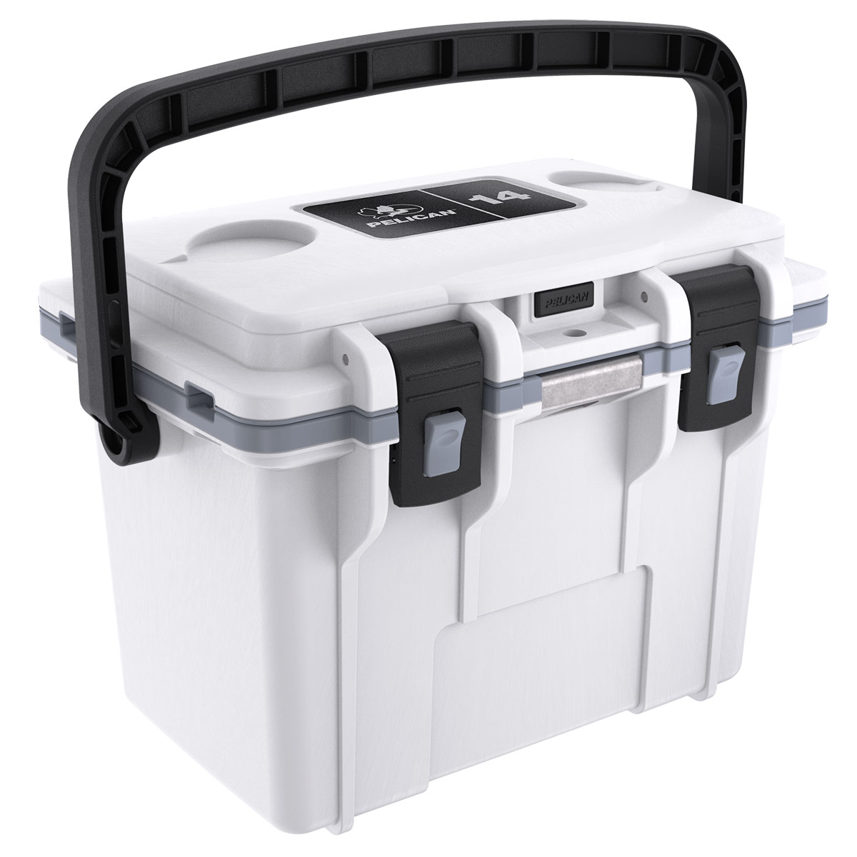 pelican 14qt white lunch hard cool