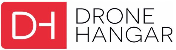 'drone hangar logo
