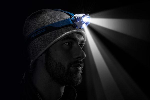 pelican downcast powerful led flashlight