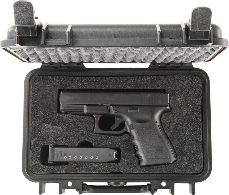 pelican protector 1170 foam gun pistol case