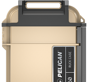 pelican personal ruck case tan