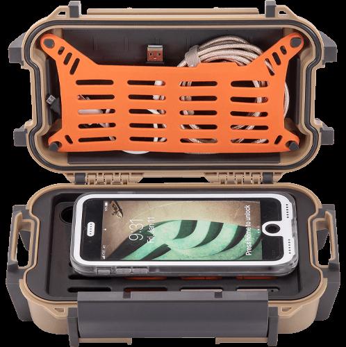 pelican phone charger waterproof ruck case