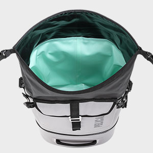 pelican dayventure soft cooler backpack gray
