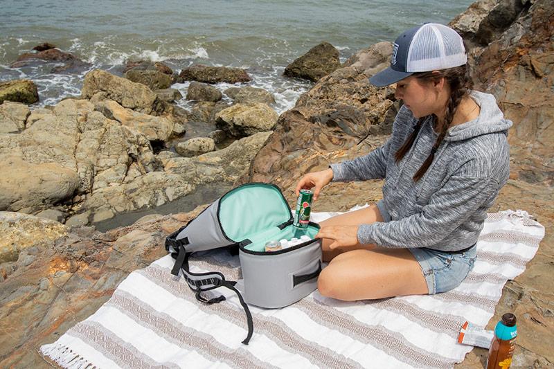 pelican hiking desert backpack soft cooler