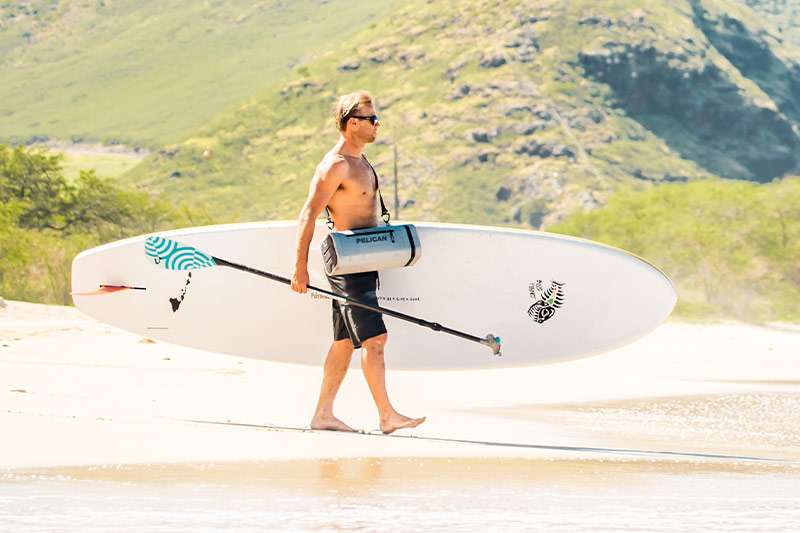pelican beach padded strap sling cooler