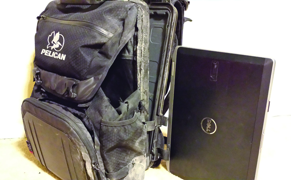 pelican discover survival story s100 laptop backpack