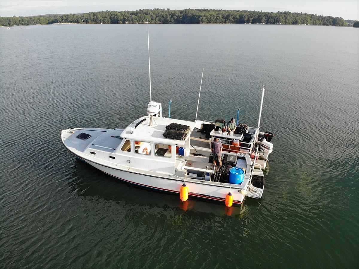 pelican pro team maine ocean farms boat