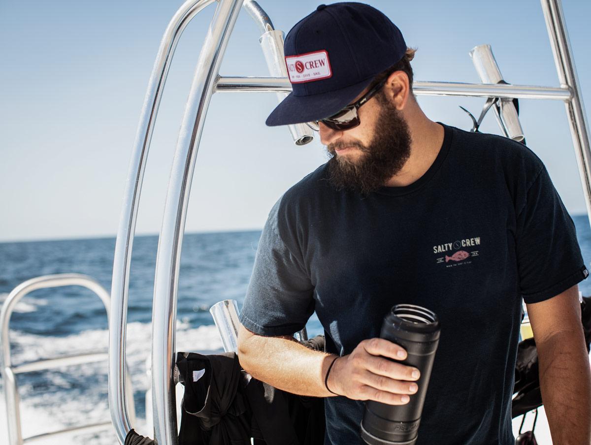 john dornelass water boat fishing