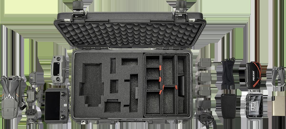 Pelican TrekPak Foam Hybrid Hard Case