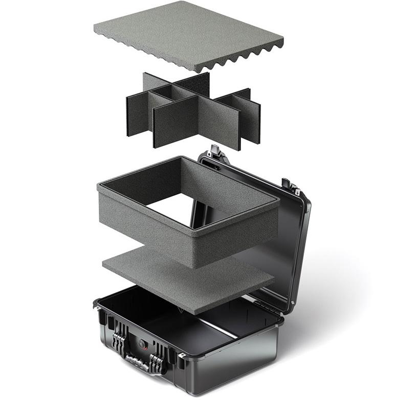 pelican trekpak case custom divider system