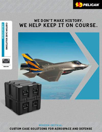 pelican peli products acs for aerospace defense brochure