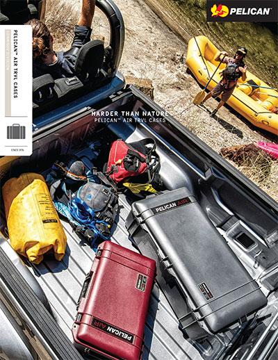 pelican air travel case brochure
