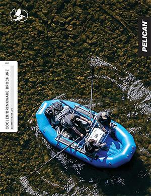 pelican coolers drinkware brochure consumer