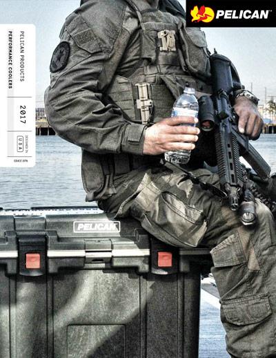 pelican professional cooler drinkware brochure military