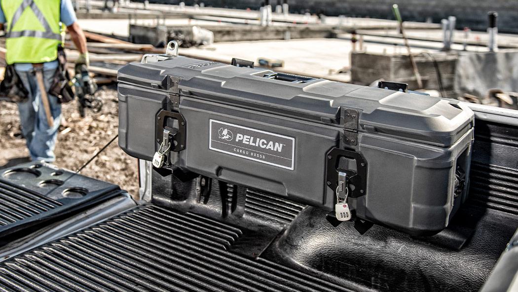 pelican universal cargo case saddle mount