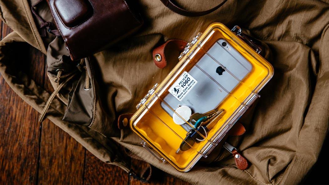 pelican 1060 phone clear micro case