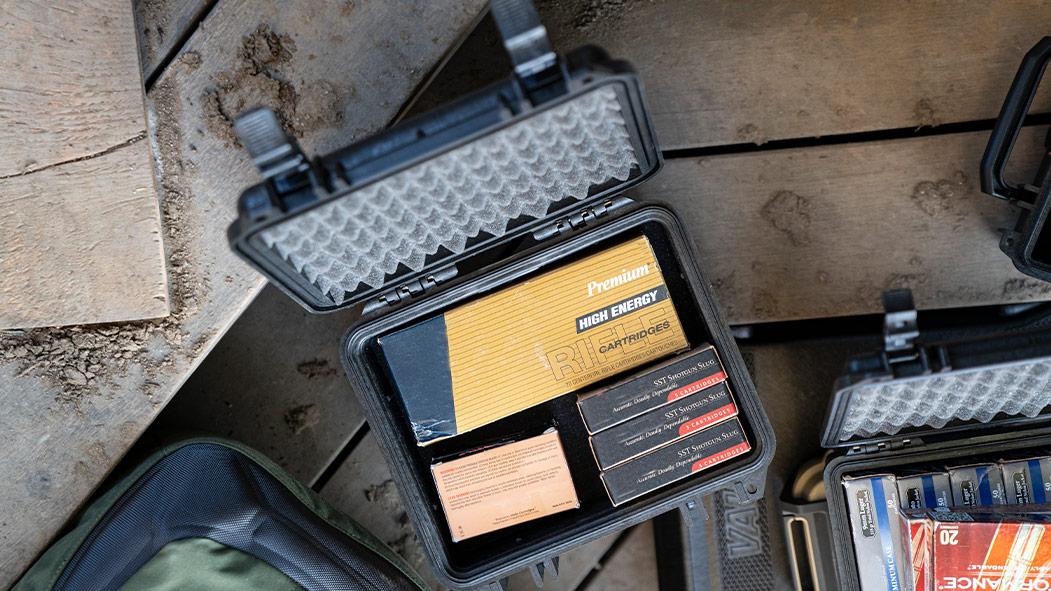 pelcian 1150 ammo rifle cartridge case