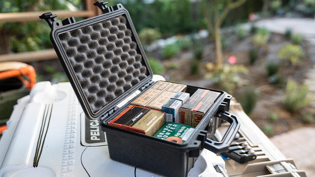pelcian 1150 gun ammo handgun case