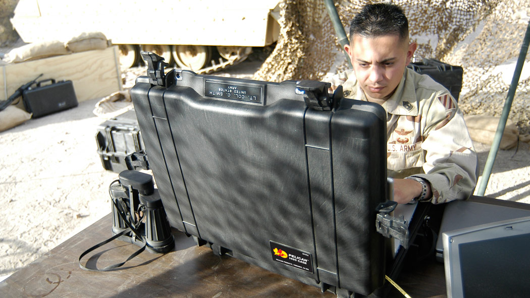 pelican 1495 army military laptop case
