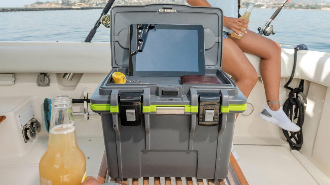 pelican 14qt boat waterproof personal cooler