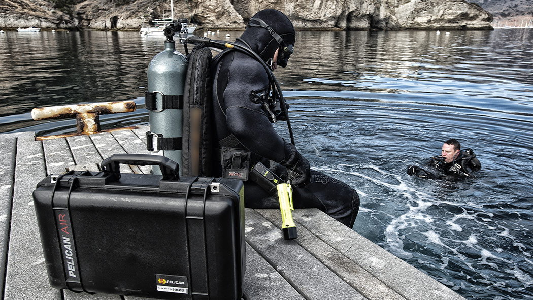 pelican 1525 scuba marine waterproof case