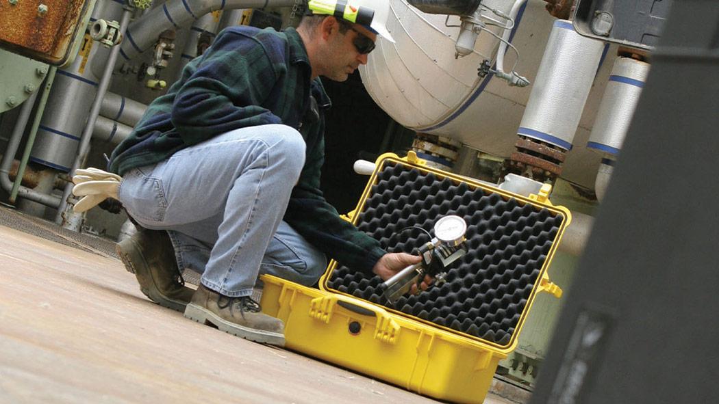 pelican 1600 gauge industrial case