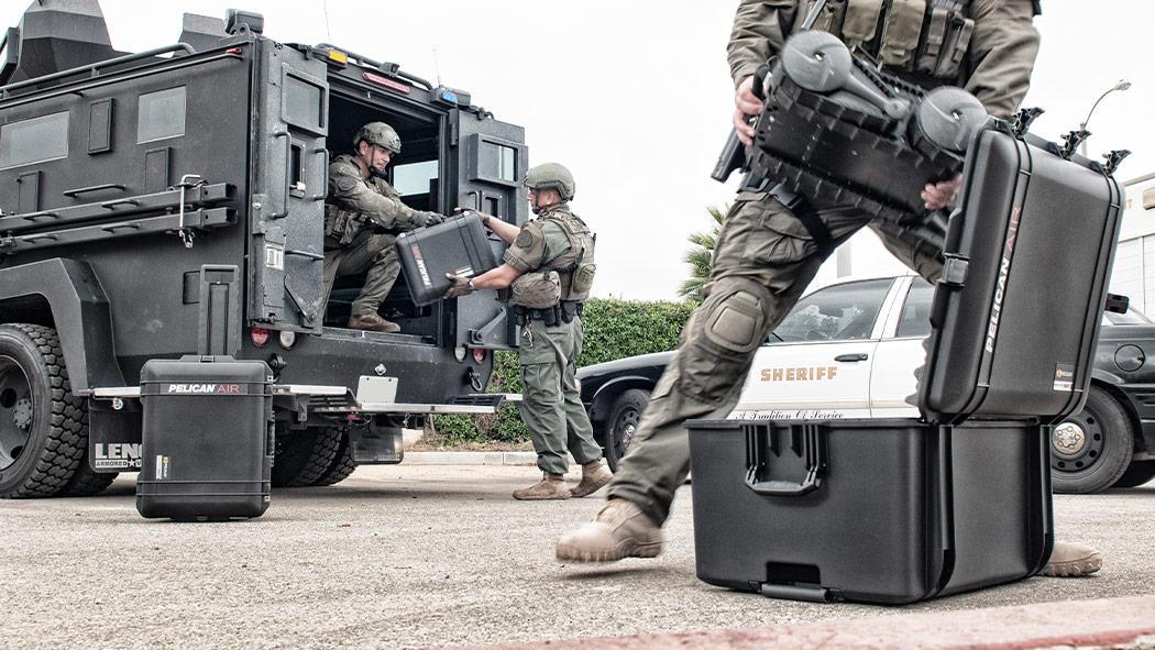 pelican 1637 swat security force case