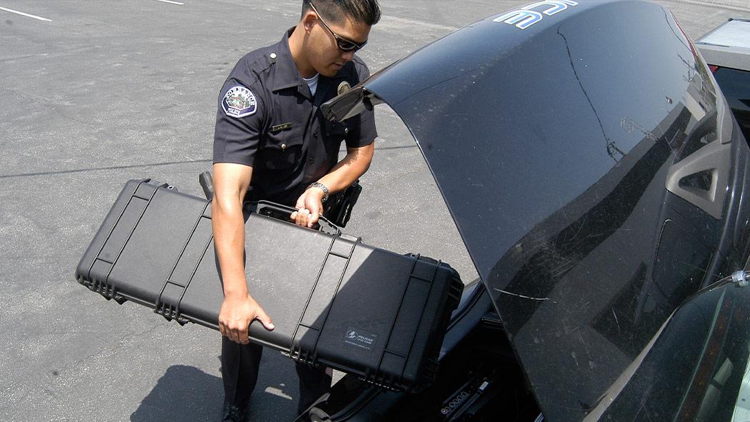pelican 1720 police ar15 rifle case