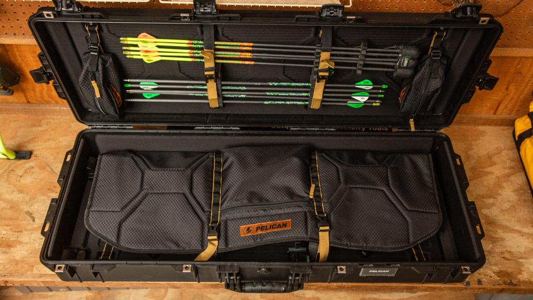 pelican 1745bow archery arrow case