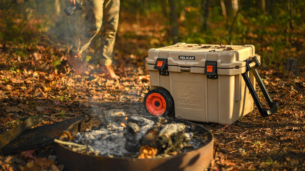 pelican 45qw desert tan camping cooler