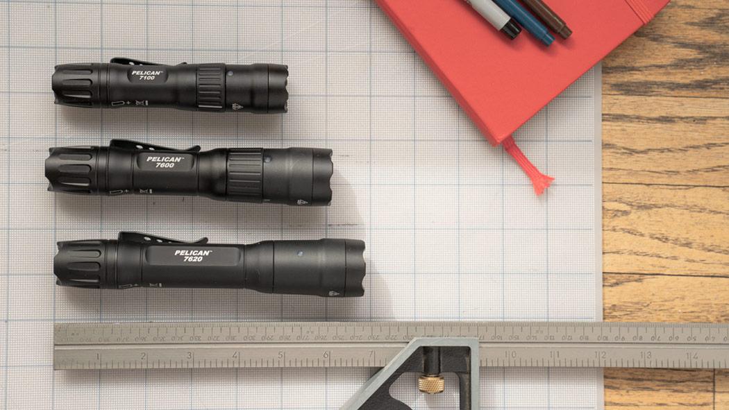 pelican 7 series rechargeable ip8 flashlight
