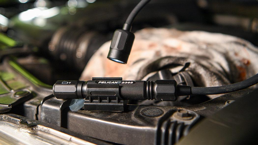 pelican black 2365 flex led flashlight