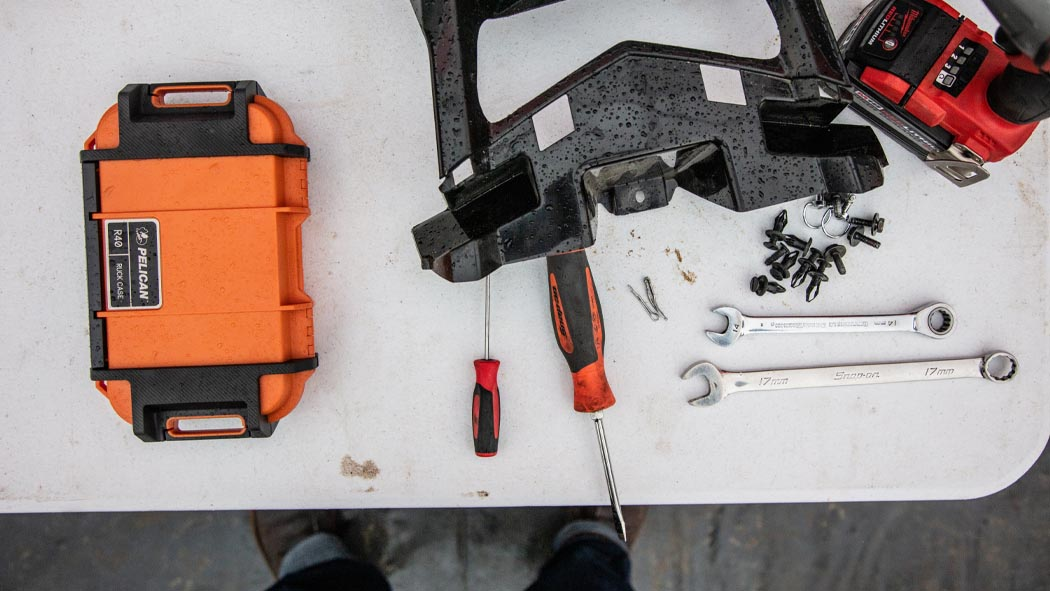 pelican r40 utility tool hardware case