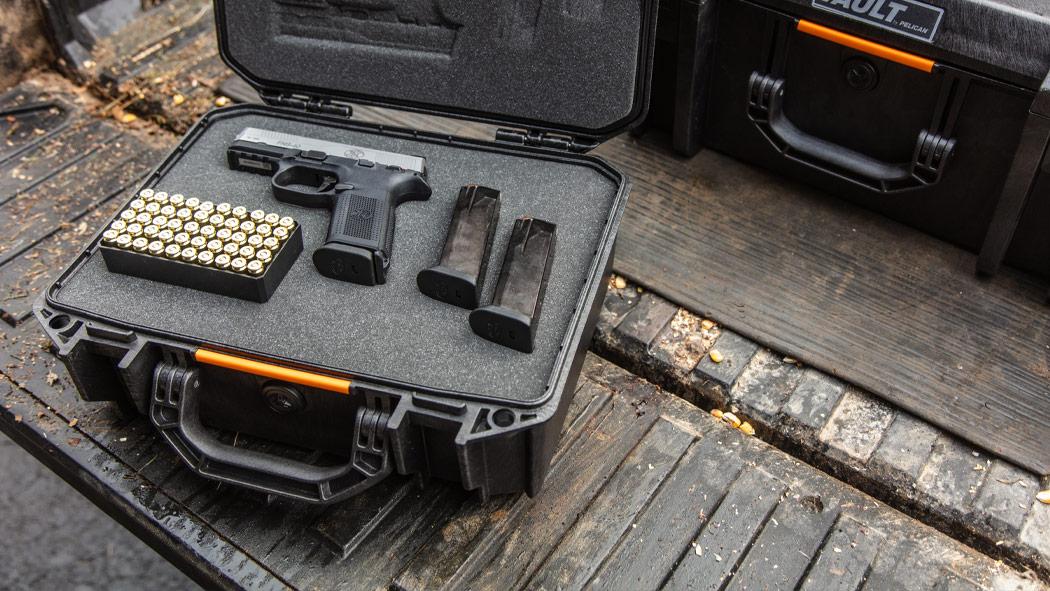 pelican v200 pistol ammo case