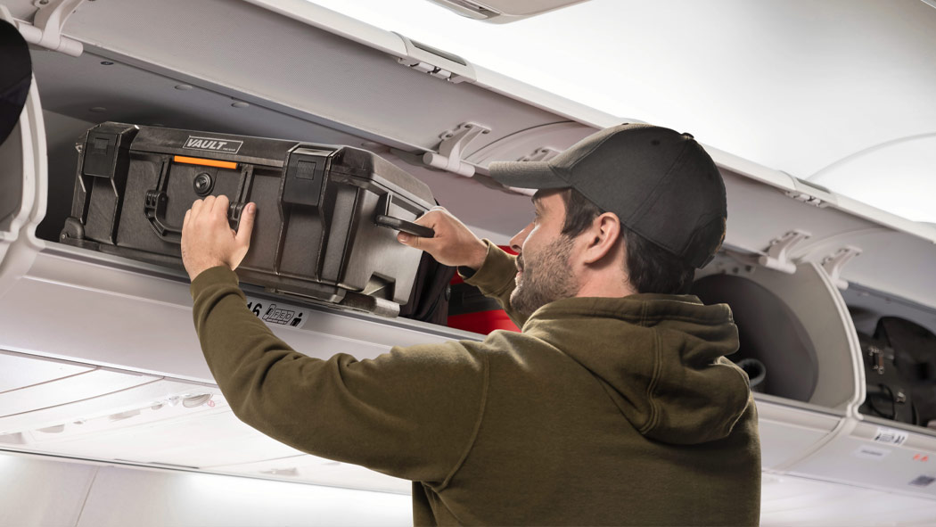 pelican v525 airline carry on vault travel case