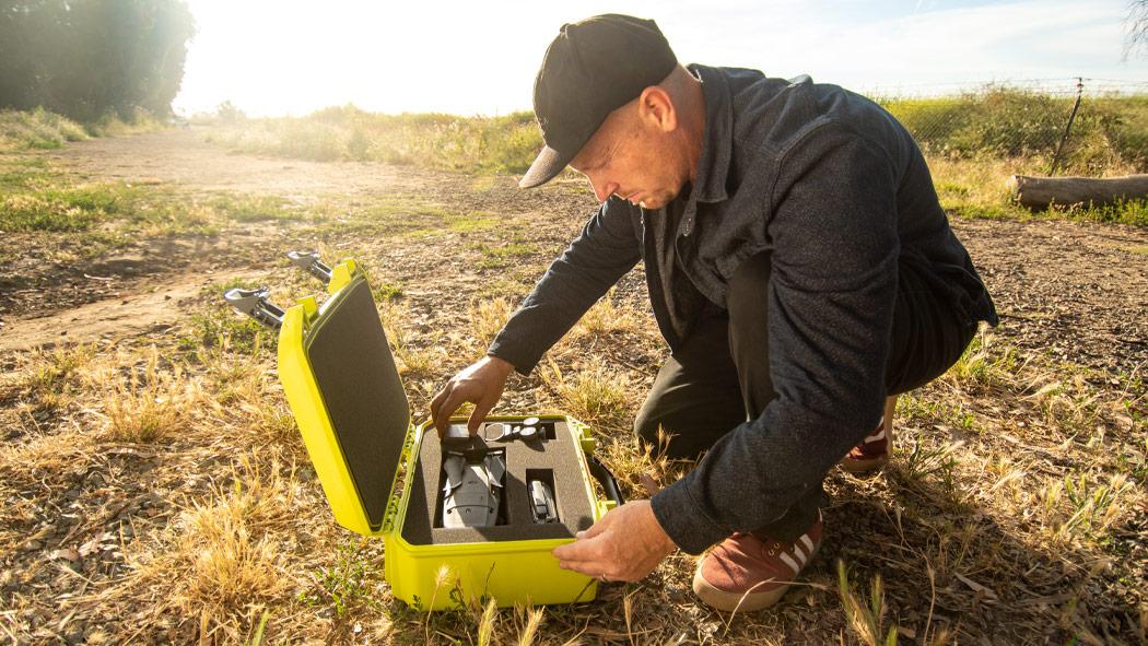 pelican vault v200c hard drone case