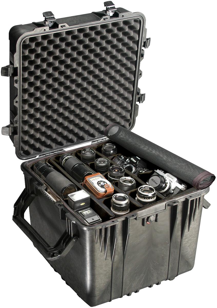 pelican 0350 hard cube camera equipment case