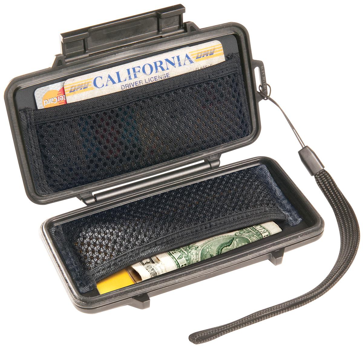 pelican waterproof plastic hard wallet case
