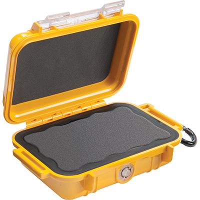 pelican 1010 micro case waterproof yellow
