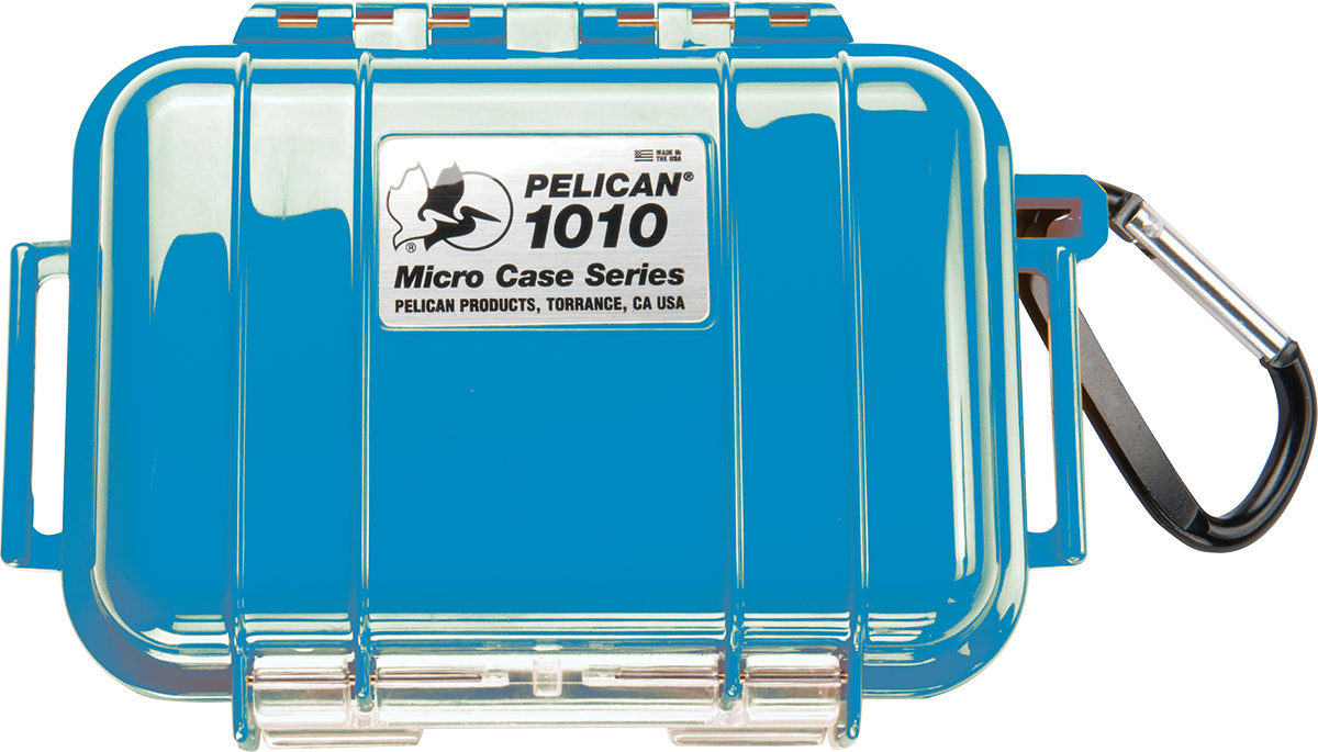 pelican 1010 solid submersible blue micro case
