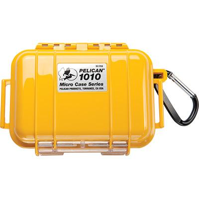 pelican 1010 solid waterproof yellow micro case