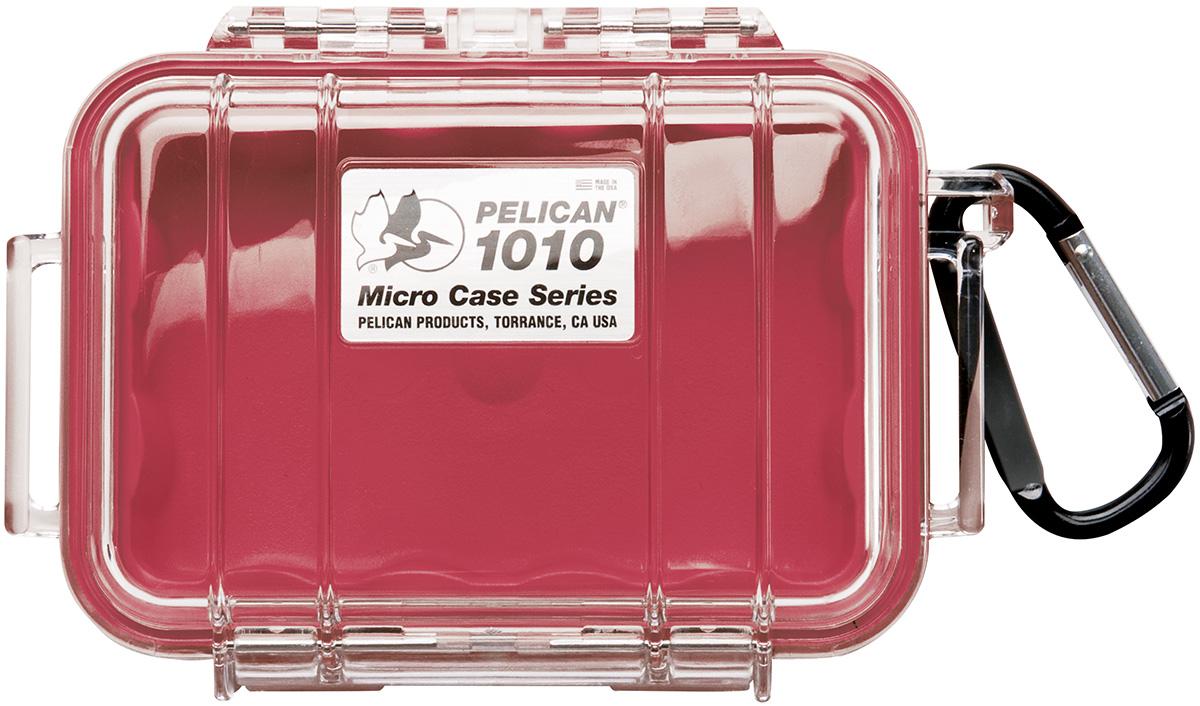 pelican watertight marine red micro case