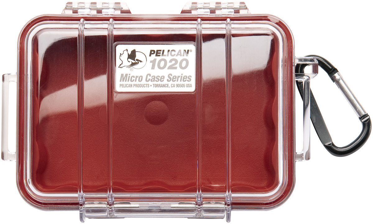 pelican 1020 tough hard red tiny case