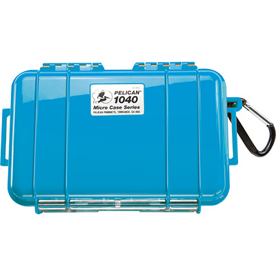 pelican 1040 blue watertight hard micro case