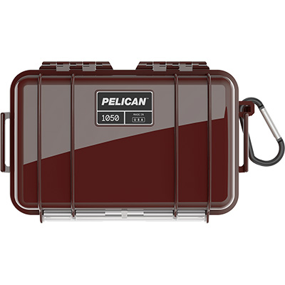 pelican 1050 oxblood waterproof case